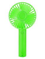 Портативный ручной вентилятор NBZ Handy Mini Fan на аккумуляторе Green