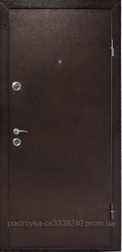 Дверь входная СТРАЖ Метал/МДФ Венге Правая 86х2050