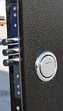 Дверь входная СТРАЖ Метал/МДФ Венге Правая 96х2050, фото 3
