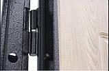 Дверь входная СТРАЖ Метал/МДФ Венге Правая 96х2050, фото 4