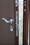 Дверь входная СТРАЖ Метал/МДФ Венге Правая 96х2050, фото 7