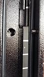 Дверь входная СТРАЖ Метал/МДФ Венге Правая 96х2050, фото 9
