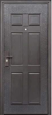 Дверь входная Супер Эконом Метал/Метал Правая 96Х2050см порошковая покраска