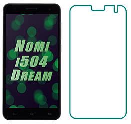 Защитное стекло Nomi i504 Dream (Прозрачное 2.5 D 9H) (Номи 504)