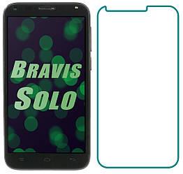 Защитное стекло Bravis Solo (Прозрачное 2.5 D 9H) (Бравис Соло)