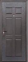 Дверь входная Супер Эконом Метал/Метал Правая 86Х2050см порошковая покраска