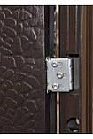 Дверь входная Супер Эконом Метал/Метал Левая 96Х2050см порошковая покраска, фото 5