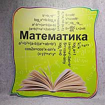 Облако математических формул. Стенд для кабинета математики
