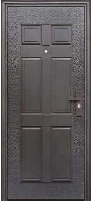 Дверь входная Супер Эконом Метал/Метал Левая 96Х2050см порошковая покраска