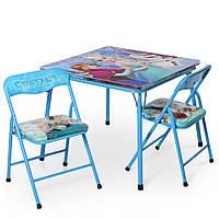 Детский столик складной и 2 стульчика  2 вида