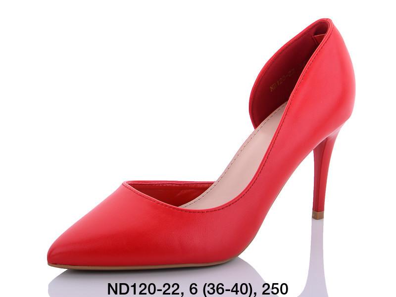 Туфли женские на каблуке красныеTeetspace-Trasta-Egga-ND120-22