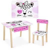 Стол и стульчик детский с ящиком Рисунок разный, фото 1