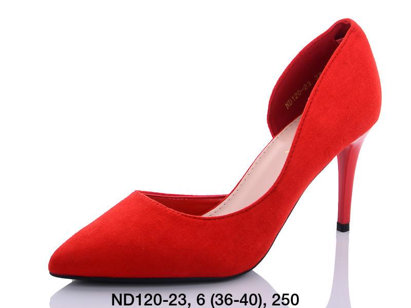 Туфли женские на каблуке красныеTeetspace-Trasta-Egga-ND120-23