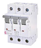 Автоматичний вимикач модульний 3P 25А х-ка С 6кА, ETI ETIMAT 6 (2145518)