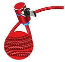 Кабель Fabric Magnetic Angular USB to lightning / Type-c / Microusb 1m (red), фото 3