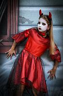 Карнавальное платье Чертик