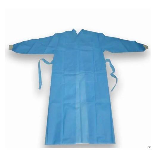 Халат хирургический НЕМАН стерильный р.50-56 (L-XL) СМС 140см, рукав-манжет
