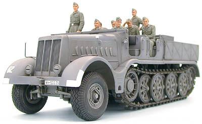 полугусеничный транспортер немецкий