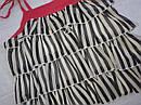 Детский летний комплект для девочки Shoes: блуза в рюшечки на бретелях + шорты  (Petito Club, Турция), фото 4