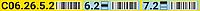 Этикетки для маркировки полочных стеллажей, макет №2