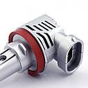 Лампа автомобильная светодиодная Carro LED Model MZ H9 8000 Lum 9-32V цвет свечения белый 2 шт/комплект, фото 5