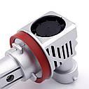 Лампа автомобильная светодиодная Carro LED Model MZ H9 8000 Lum 9-32V цвет свечения белый 2 шт/комплект, фото 6