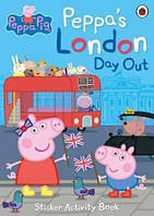 Книга с наклейками Peppas London Day Out Sticker Activity Book ISBN 9780241299494