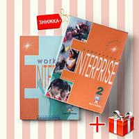 Книги Enterprise 2 Coursebook & workbook (комплект: учебник и рабочая тетрадь) Express Publishing ISBN 9781842161050-1
