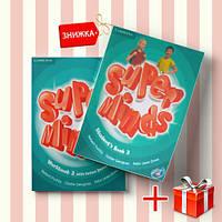 Книги Super Minds 3 Students Book & workbook (комплект: учебник и рабочая тетрадь) Cambridge ISBN 2000096220762-1