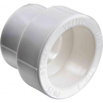 Полипропиленовая муфта Valtec переходнная PPR 40-25 мм