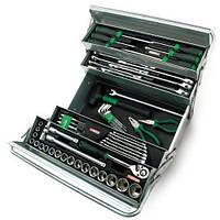 Набор инструментов в ящике TOPTUL (5 секций) 63 ед. GCAZ0039, фото 1