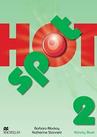 Рабочая тетрадь Hot Spot 2 Activity Book ISBN 9780230533752