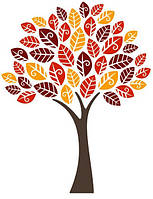Виниловая наклейка Autumn Tree