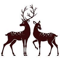 Виниловая наклейка Deer