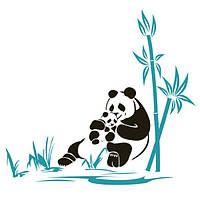 Виниловая наклейка Panda