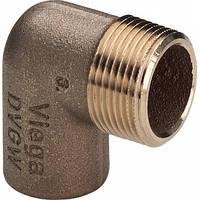 """Колено Ø22 х 1"""" З (бронзовое) -144067 Viega GmbH 94092g"""
