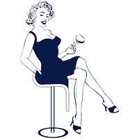 Виниловая наклейка Marilyn