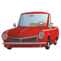 Виниловая наклейка детская Cute Car