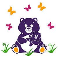 Виниловая наклейка детская Bear
