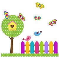 Виниловая наклейка детская Garden