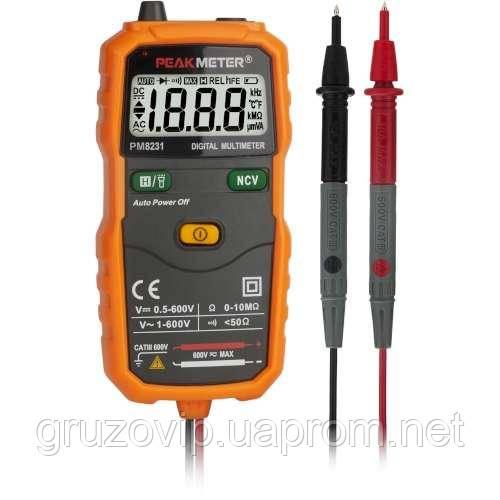 Купить Мультиметр цифровой универсальный smart PROTESTER PM8231