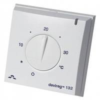 Терморегулятор DEVI Devireg 132 с датчиком пола и воздуха