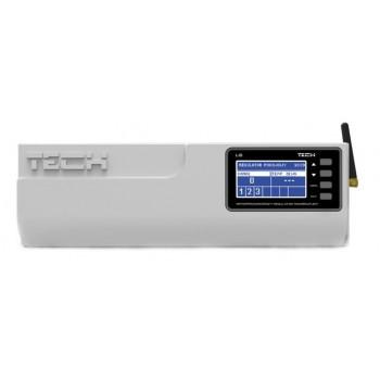 Контроллер для систем теплого пола (проводной, удаленный доступ, 8 зон) TECH L-8