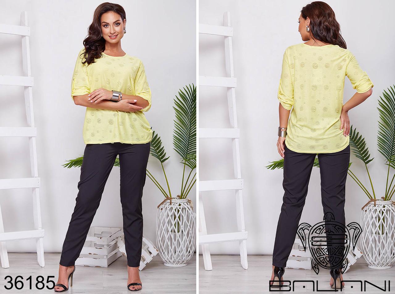 Блуза женская батал р .50-56  Balani XL
