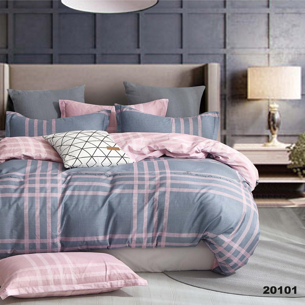 Комплект постельного белья Viluta Ранфорс двуспальный 20101