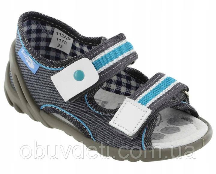 Детские сандалии на липучке Renbut 25 (16 см)
