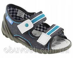 Дитячі сандалії на застібці Renbut 25 (16 см)