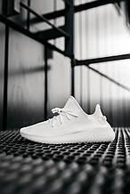 Стильные кроссовки Adidas Yeezy Boost 350 V2 Triple White (Адидас Изи Буст 350)