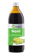 Сок нони, 100% натуральный, 500 мл, без консервантов, без сахара, EkaMedica