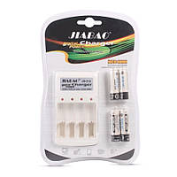 Зарядное устройство с АAА аккумуляторами (4 шт) Jiabao Digital Charger JB-212 (3279)